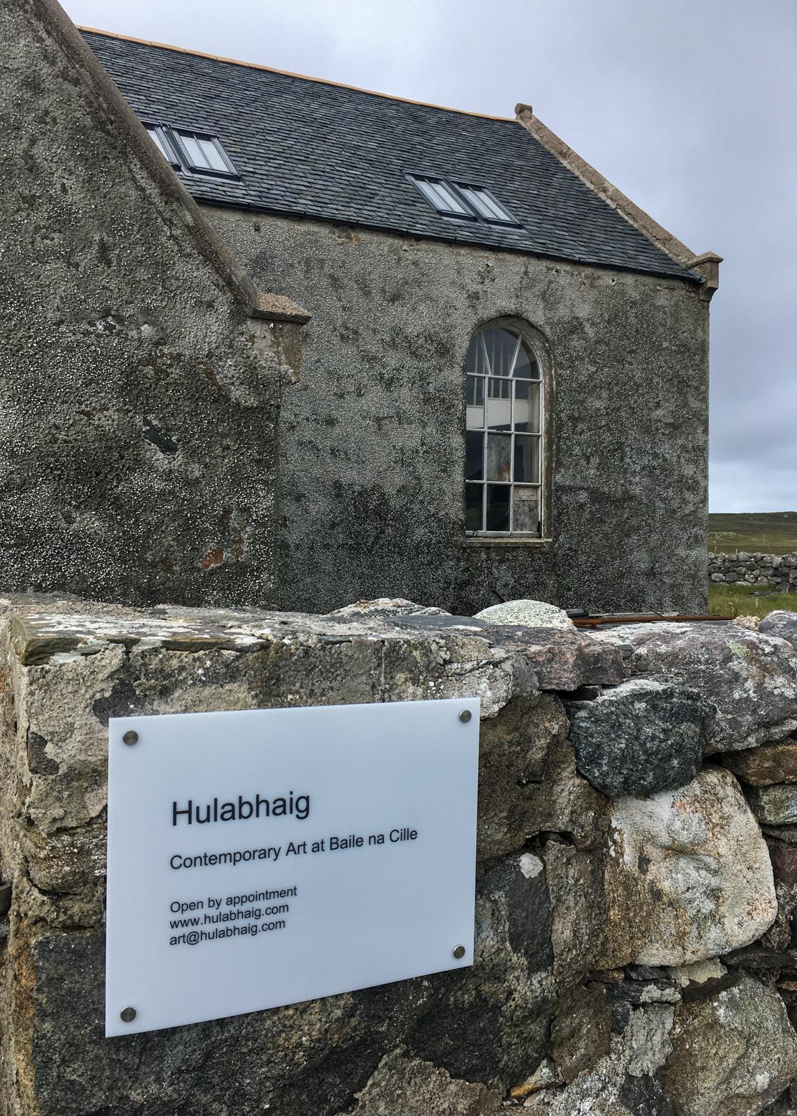 Hulabhaig at Baile na Cille Church